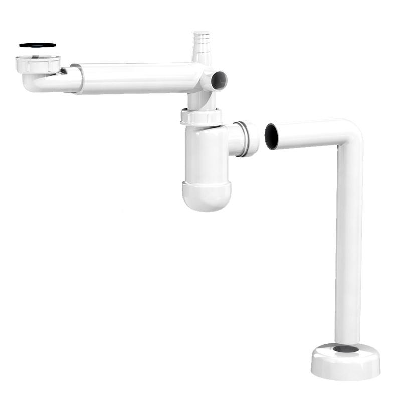 SELITYS: Putki, kanava tai laite näkyvissä leikkaustason alapuolella tai ta- kana.